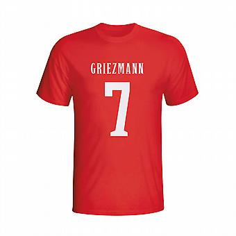 Antoine Griezmann Atletico Madrid Hero t-shirt (rosso) - bambini