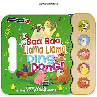 Baa, Baa, Llama, Llama, Ding Dong (5 Button Sound)