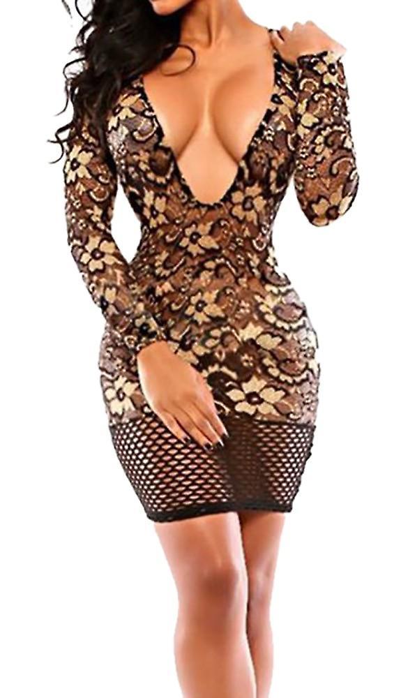 Waooh - kort kjole blonder Vald