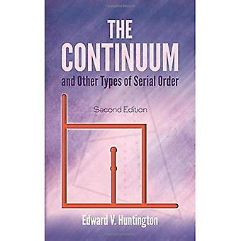 Continuum and Other Types of Serial Order: Second Edition