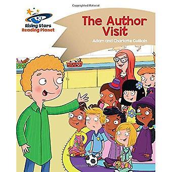 Lezing planeet - de auteur bezoek - goud: Komeet Street Kids (Rising Stars planeet lezen)