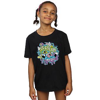 دي سي كوميكس الفتيات جبابرة في سن المراهقة تذهب القميص الآيس كريم