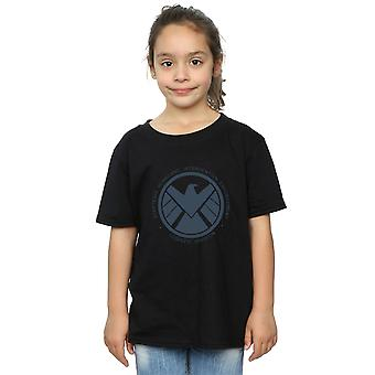 Marvel Girls Agents Of SHIELD Logistics Division T-Shirt