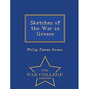 Skizzen des Krieges in Griechenland War College-Serie von Green & Philip James