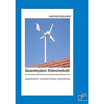 Gesamtsystem Kleinwindkraft Anlagenkonzepte Ertragsoptimierung Netzeinspeisung av Halbhuber & Winfried