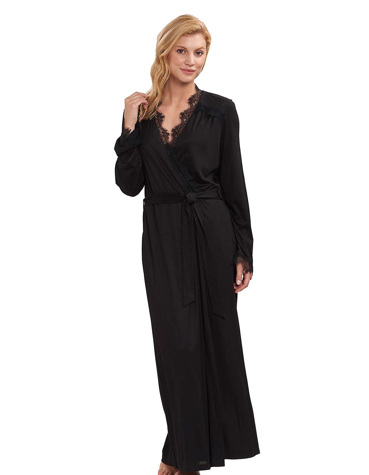Feraud 3191226 femmes&s Couture Lace Robe Loungewear Bath Dressing Gown