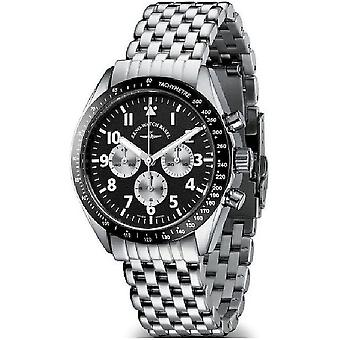 Zeno-watch mens watch Lemania tachymeter Chrono limited edition 430 01TH b1M