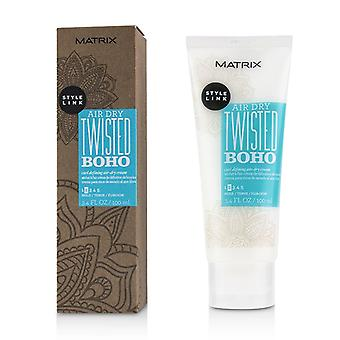 Matrix Style Link Air Dry Twisted Boho Curl Defining Air-dry Cream (mantener 2) - 100ml/3.4oz