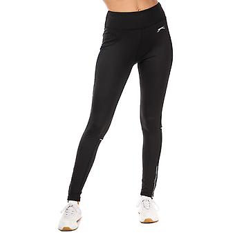 Womens Slazenger Estelle Leggings In Jet Black