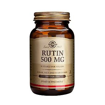 Solgar, rutine 500 mg tabletten, 100