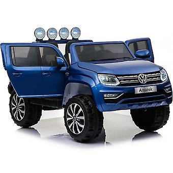 VW Volkswagen Electric Ride On Car - Licensed VW Amarok Car For Kids - 12V -Blue