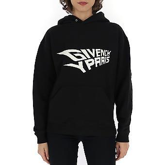 Givenchy schwarzen Baumwoll Sweatshirt