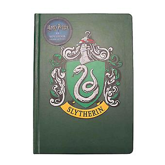 Harry Potter Notebook Slytherin House Crest Logo new Official Green A5