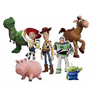 Toy Story Official Table Top Cardboard Cutouts Party Pack of 7
