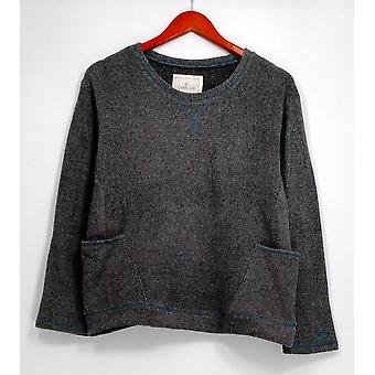 Côddl Duds Petite sleepshirt Petite Stretch Fleece novidade Heather Gray