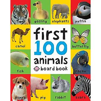 First 100 Animals by Roger Priddy - 9781849154215 Book