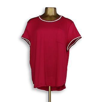 Cuddl Duds vrouwen ' s Nachthemd koele luchtige Jersey roze A346857