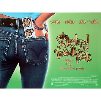 The Sisterhood And The Travelingpants (Double Sided) Original Cinema Poster