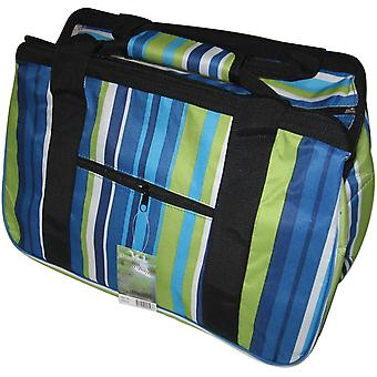 Janetbasket Blue Stripes Eco Bag 18