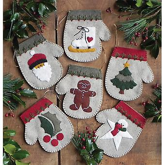 Warm Hands Ornament Kit Set Of Six K0811