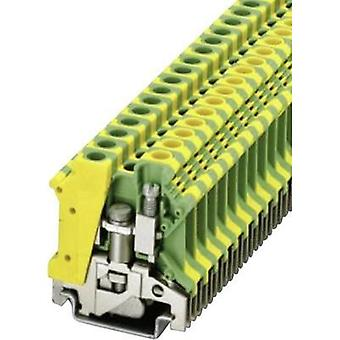 PE protective conductor terminal USLKG 6 N Green-yellow Phoenix Contac