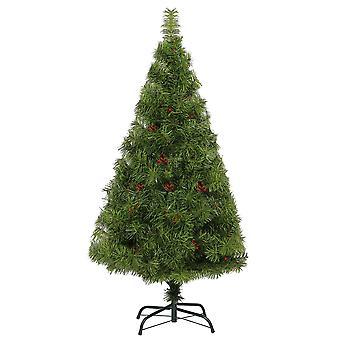 6ft árbol de Navidad pino de Boulder con Berry