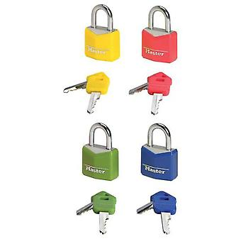 Masterlock Covered Aluminum Padlock 30mm - Colors (DIY , Hardware)