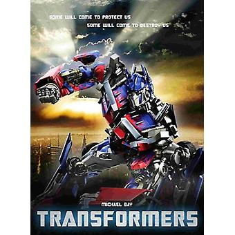 Transformers - style P Movie Poster (11 x 17)
