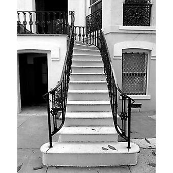 Savannah Treppe II Poster Print von Robert Jones