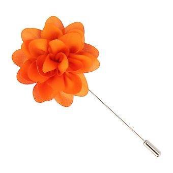 Mr. icone revers-corsage flower PIN pin PIN pin Orange