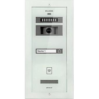 Video door intercom Corded Outdoor panel Bellcome VPA.1FR02.BLW Detached White