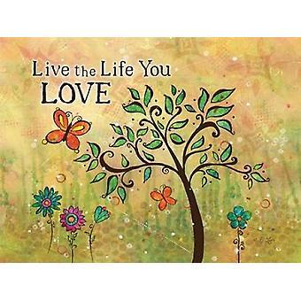 Live Life Poster Print by BJ Lantz