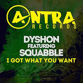 Dyshon / Squabble - I Got What You Want USA import
