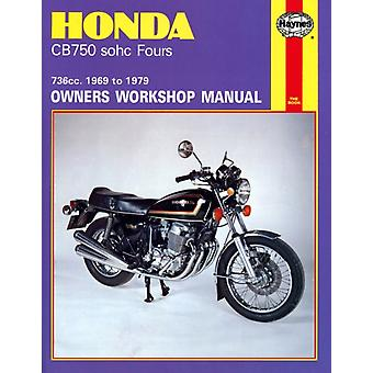 Honda 750 4 Cylinder Owner's Workshop Manual (Motorcycle Manuals) (Paperback) by Clew Jeff