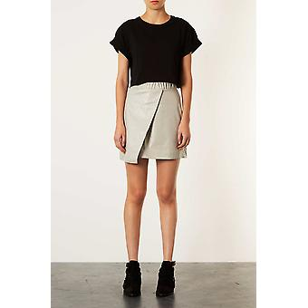Top Shop Grey wrap skirt