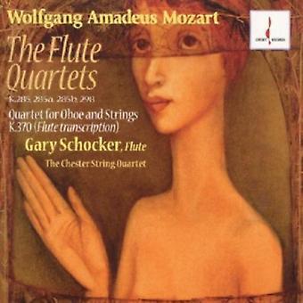 W.a. Mozart - Mozart: The Flute Quartets [CD] USA import