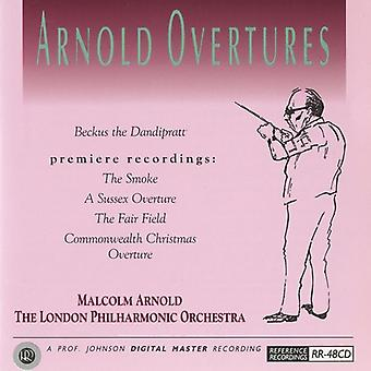 M. Arnold - Arnold: Overtures [CD] USA import