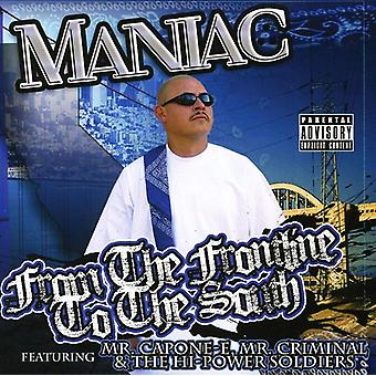 Maniac - From the Frontline to the South [CD] USA import
