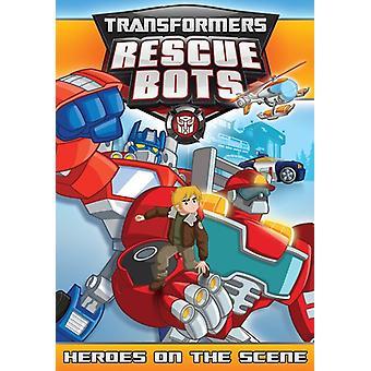 Transformatorer Rescue Bots: Hjältar på scen [DVD] USA import