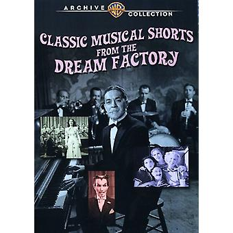 Classic Musical Shorts From the Dream Factory [DVD] USA import
