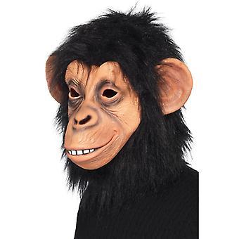 Monkey mask Chimp chimpanzee mask LaTeX