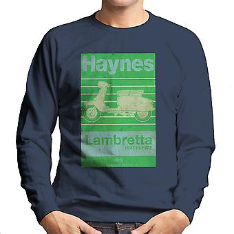 Haynes Owners Workshop Manual Lambretta 47 To 72 Distressed Men's Sweatshirt