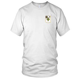 US Army - 2dre bataljon 47nde Infantry Regiment brodert Patch - Mens T-skjorte