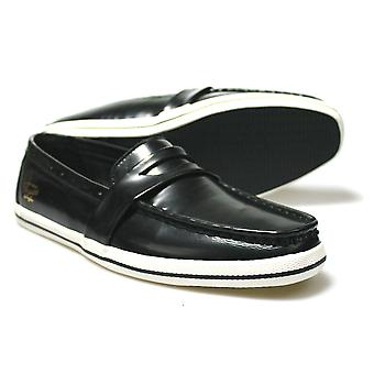 Pinguin Rufus Black Low-Top lässig Loafers