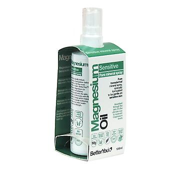 BetterYou, Magnesium Oil Sensitive Spray, 100ml