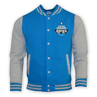 Napoli College Baseball jakke (himmelblå)