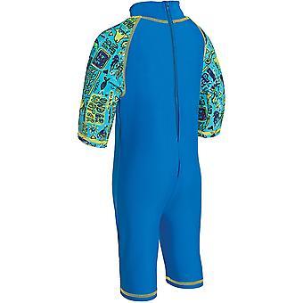 ZOGGS dzieci Deep Sea jednoczęściowy kostium kąpielowy niebieski dla dzieci 1-6 lat