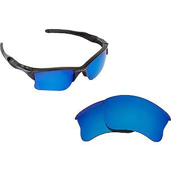 Best SEEK Polarized Replacement Lenses for Oakley HALF JACKET 2.0 XL Blue Mirror