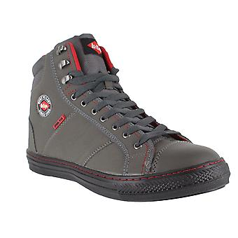 Lee Cooper 022 Mens Womens SB Steel Toe Safety Retro Style High Hi Tops Boots