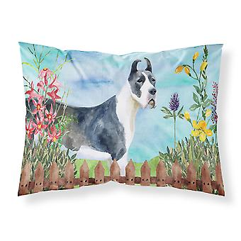 Harlequin Great Dane Spring Fabric Standard Pillowcase